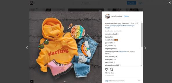 How to swipe through photos on Instagram pc
