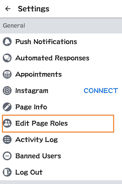 How to add admin to the Facebook page from Mobile_2