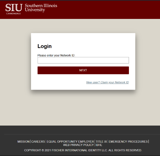 Login to get the Network ID