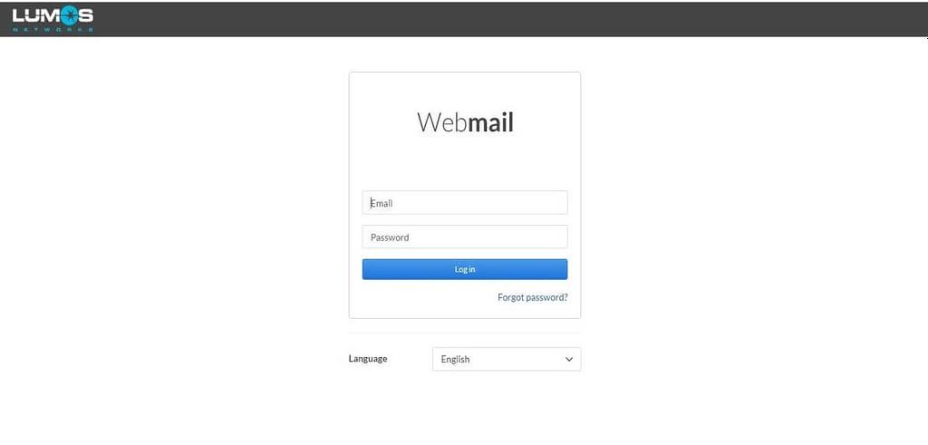 ntelos Lumos webmail