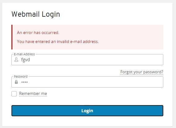1and1 Webmail login password