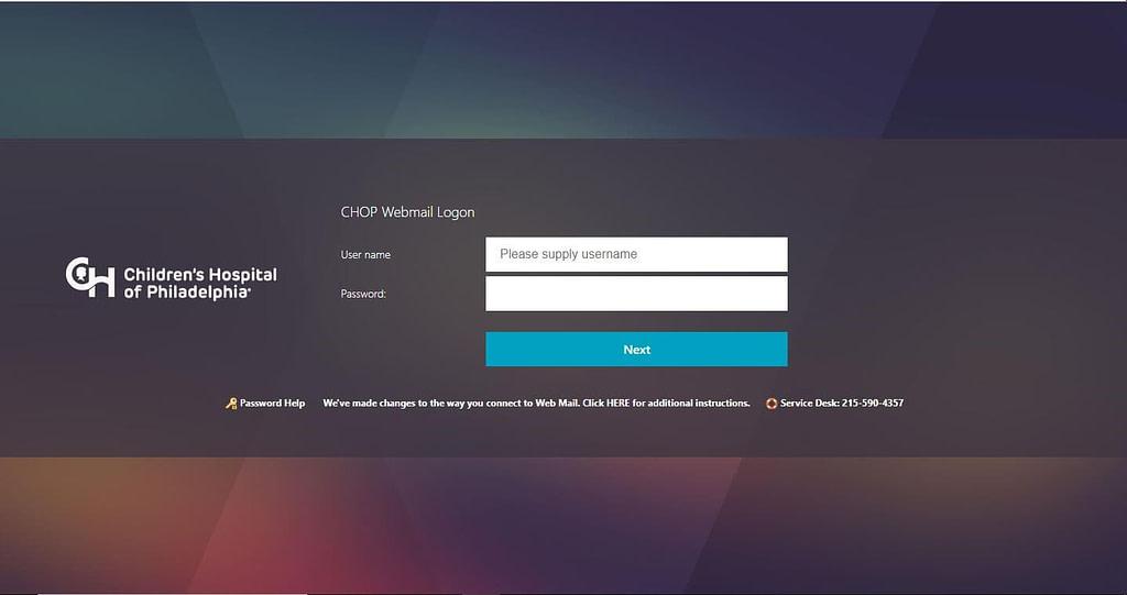 chop webmail