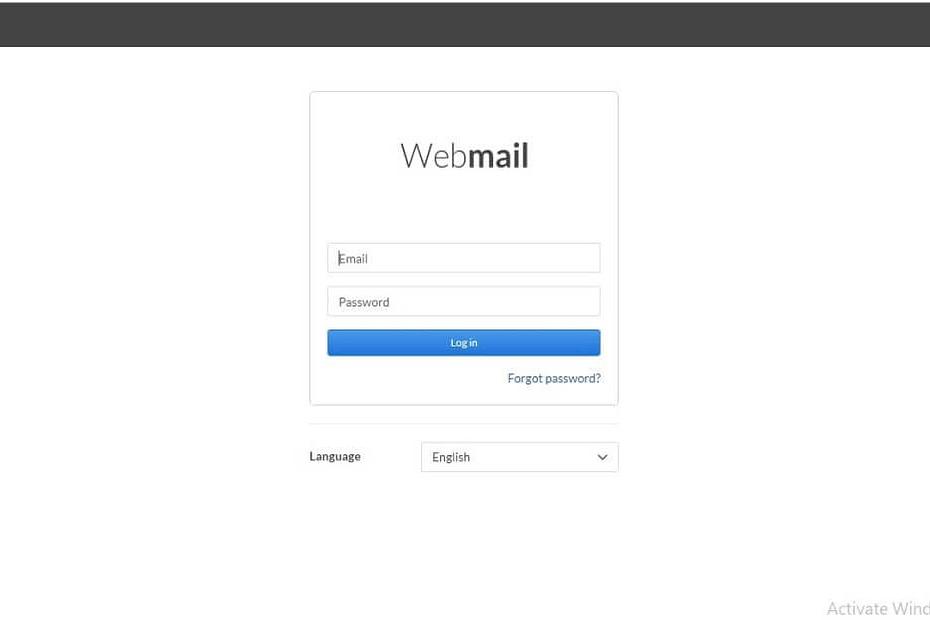 Covad webmail login